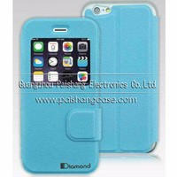 Flip leather case cover for Apple iphone 6