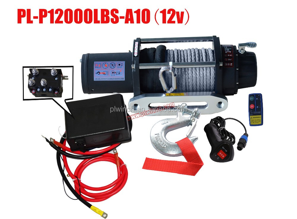 12000lbs electric winches super quality for off roading