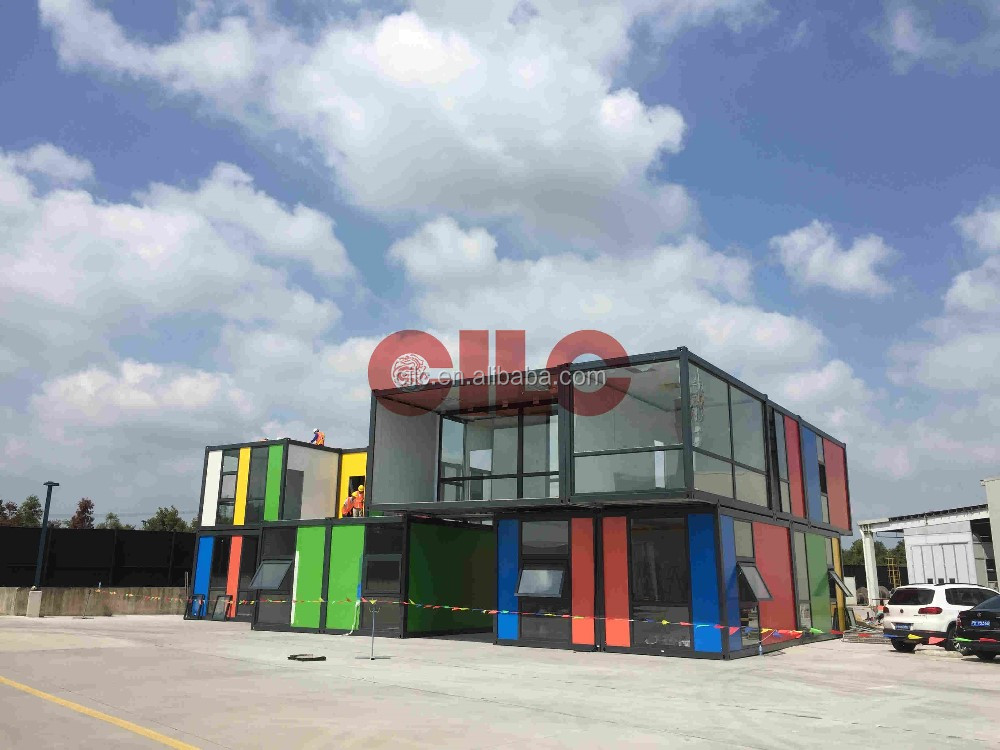 Modular Container / Prefab Container for Disney Project (CILC-CP-001)