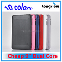 android cheap 9 inch dual core tablet mid with WIFI 0.3M/2.0M front/rear camera