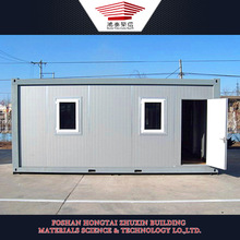 Environmental Protection Easy Moved Prefab Steel Container Houses for Sale