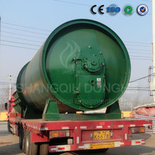 hot sale 20 tons non pollution auto feeding style waste plastic or rubber pyrolysis reactor