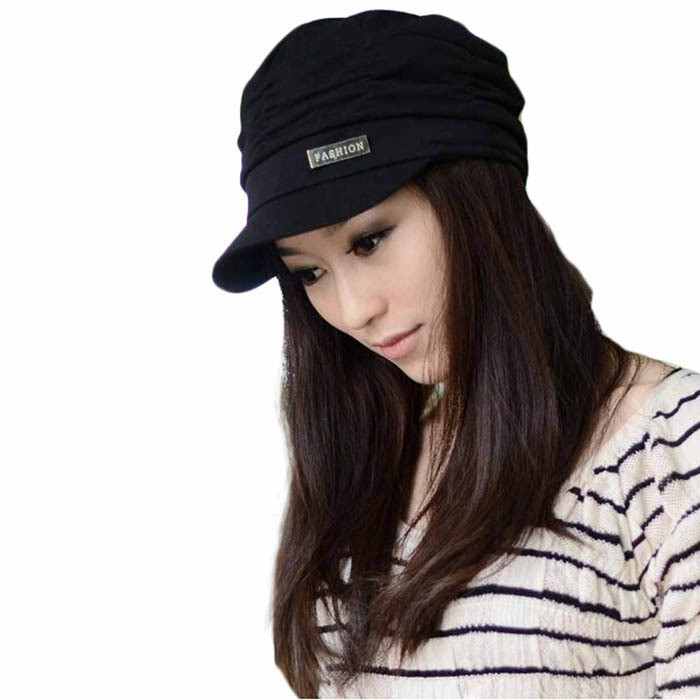 MOON BUNNY Fashion Bouffancy Unisex Army Military Cap <strong>Flat</strong> -Top Hat Student Hat Vintage Navy Free Shipping 1pcs Wholesale Moq1se