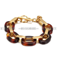 Top brands bracelet crystal personalized ornaments MKB011STGC