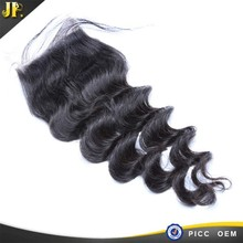 Peruvian Loose Deep Wave,6x6 Lace Closure,Free Of Shedding And Tangling Hair
