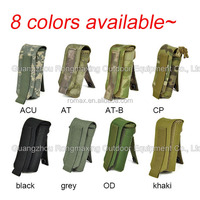 water proof small bottle Pouch bags with molle strap durable military admin pouch