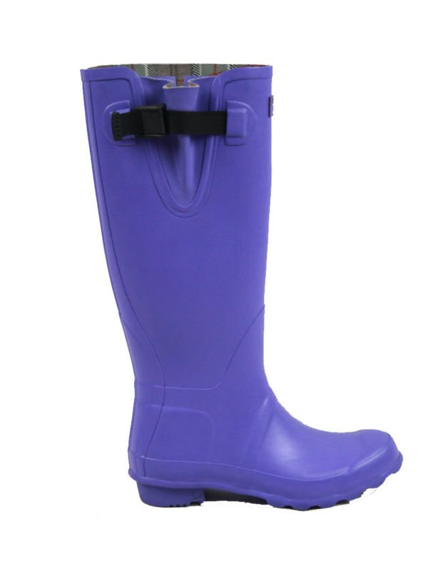 Ladies Rubber Boots,High Heel Rain Boots For Women,Thigh-High Boots