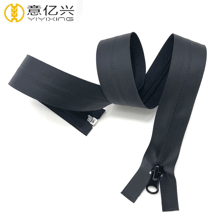 Custom Multiple Uses #<strong>3</strong> #4 #5 #8 #<strong>10</strong> Black Nylon Waterproof Zipper For Sale