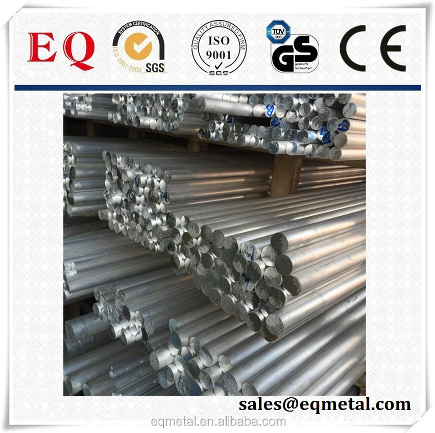 Aluminum Alloy Rods Proces Auminium Round Solid Bar Auminium Rod