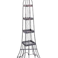 Eiffel Tower Shape Outdoor Flower Shelves