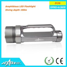 Jexree light led torch rechargeable led torch led camping lantern led diving torch