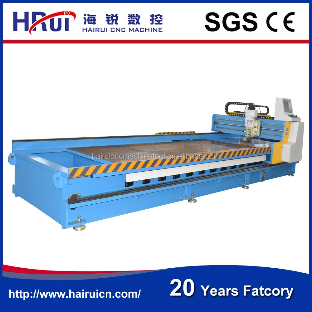 6000mm length stainless steel cnc sheet metal grooving machine, V piercing machine for cabients doors, Elevator