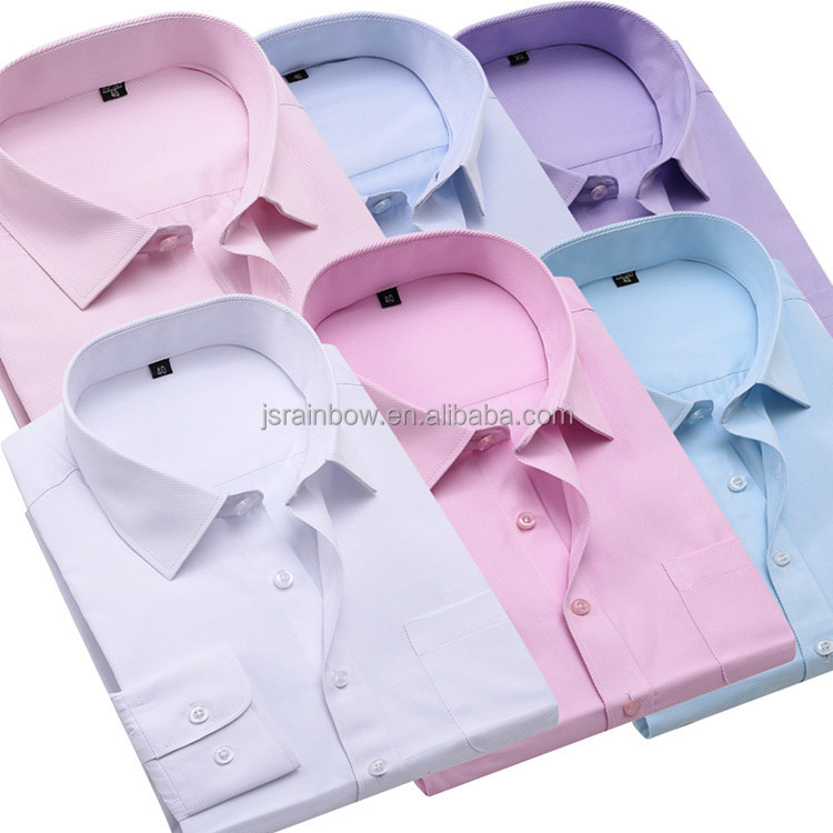 2018 Wholesale business dress <strong>shirts</strong> mens long sleeve <strong>shirts</strong>