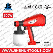 JS Professional HVLP 500W electric paint spray gun application turbine paint sprayer