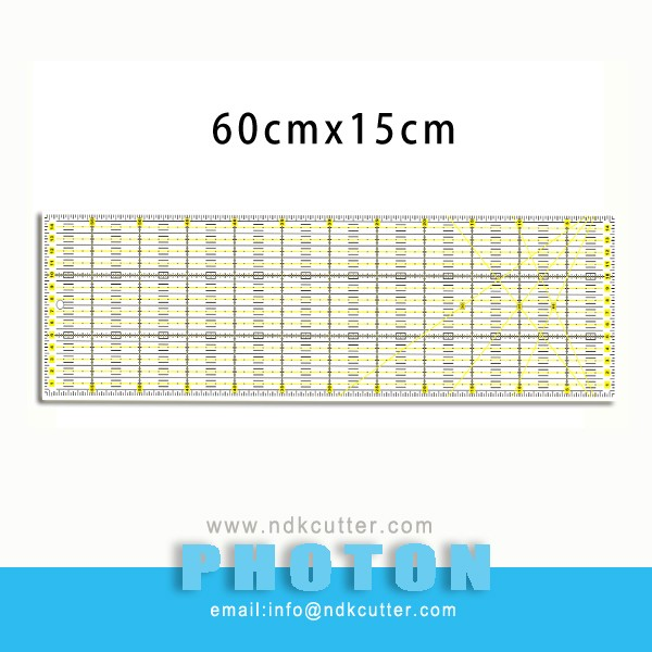Quilting & sewing Ruler 6''x12'' Acryl ruler