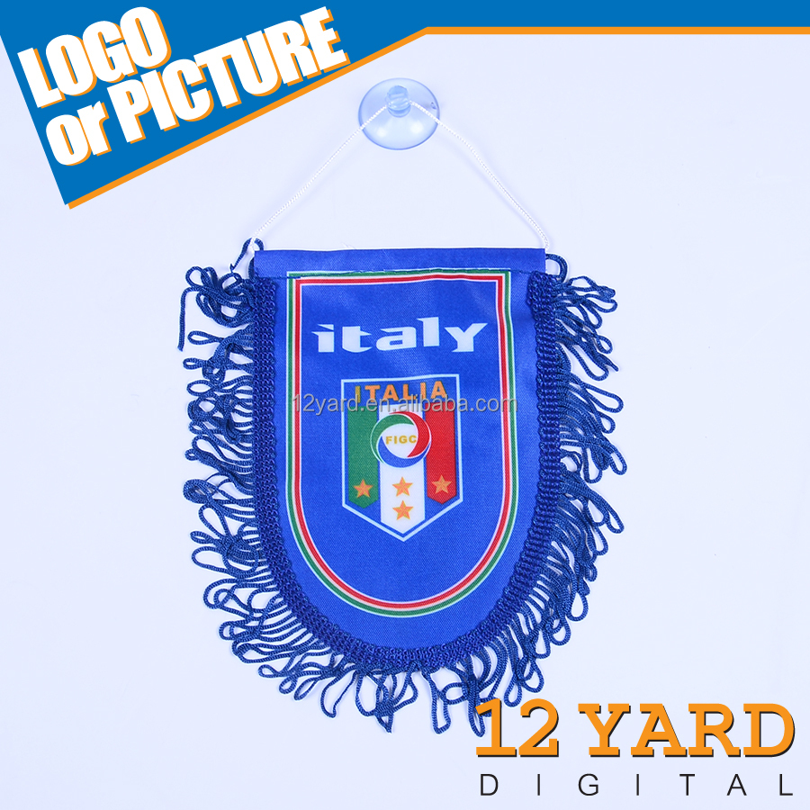 Italy national football fans gifts decorative sting mini flag and banner/soccer corner flags