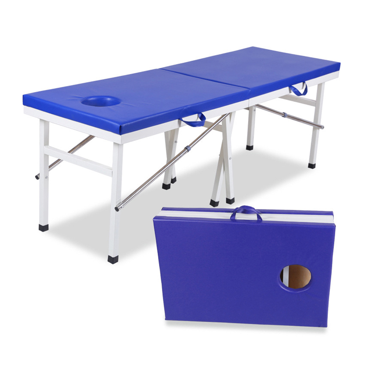 Portable full body massage therapy bed,facial bed for sale,massage table face hole