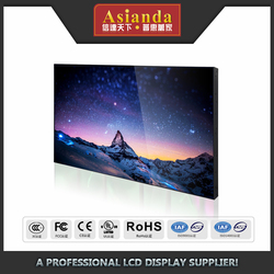 Commercial 49 inch lcd video wall ultra narrow Bezel live broadcast 2x3 lcd video wall with big advertising screen