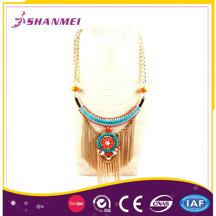 Authentic Manufacturer Discounted Price Statement Necklace Jewellery