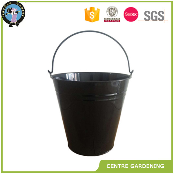 color black metal bucket 10L 15L 5L