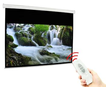 300 Inch Electric Projector Screen with Motorized Screen
