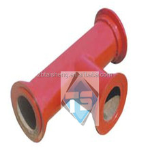 Bespoken Ceramic Lined Composite Pipe for Cement Plant,Aluminium Ceramic Tube