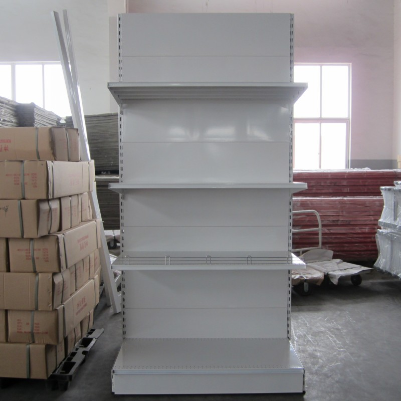 Commercial supermarket gondola shelving for display from Changshu factory/Store Used Shelves For Sale