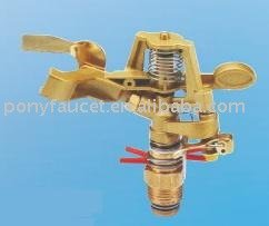 High Quality Taiwan made Brass bronze zinc impulse garden irrigation Sprinkler