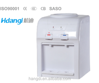 Mini table top water dispenser / electric cooling hot and cold water dispenser China HD-1415(CB)