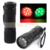 AAA Dry Battery Red White Green Color Light Outdoor Party Stage Flashlight