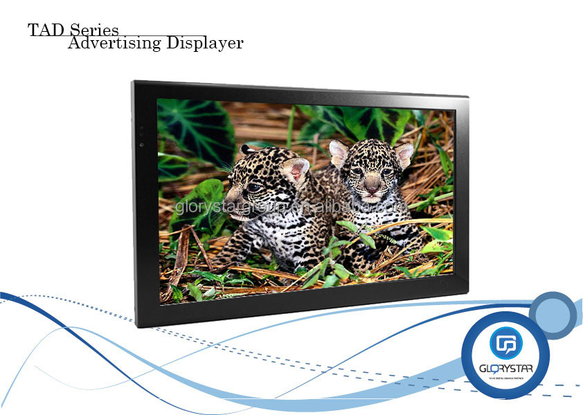 youtube hd tv lcd media displayers advertising screen HD Player