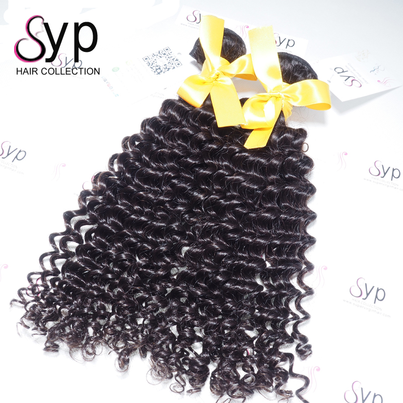 Pure Brazilian No Chemical Processed Blossom Bundles Virgin French Deep Wave Human Hair