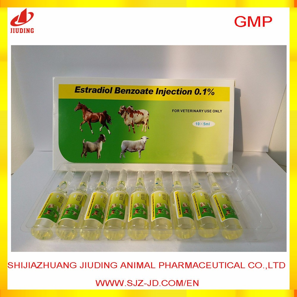 veterinary estradiol benzoate injection for cattle hormones