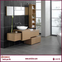 Attactive modern free standing bathroom cabinets