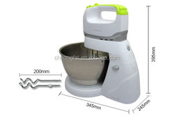 4L Stainless Steel Roating Bowl Hand Mixer