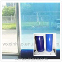 PE Protective Adhesive glossy Film for Window Glass