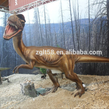 Large Animated Dinosaur for Jurassic Park Dilophosaurus for sale