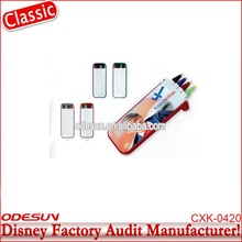 Disney Universal NBCU FAMA BSCI GSV Carrefour Factory Audit Manufacturer New Product Stationery Metal Ballpoint Pen