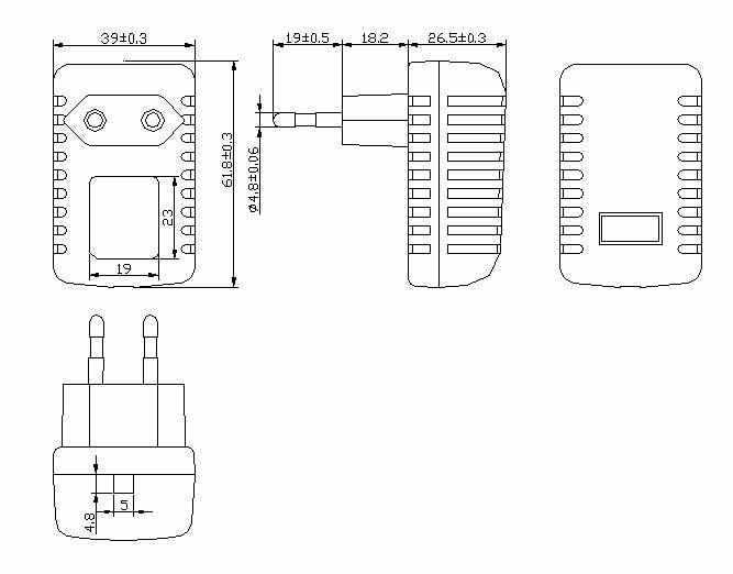 coc vi ac 230v dc dve power adapter dc 12v 1a supply eu ce dc 2 1-2 5mm