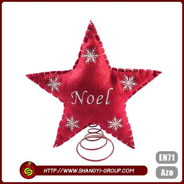 Custom colors star shape uniqu bedframe christmas decoration home craft