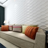 High quality 3d wall design wall decor panel pvc wall panels price in pakistan