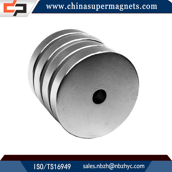 Professional Manufacturer Customized Industrial ring flat neodymium magnets