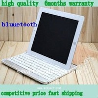 Mini Untra-thin Bluetooth Keyboard for iPad / iPhone, App system Laptop or Desktop , Metal Wire Drawing on the Keyboard Surf