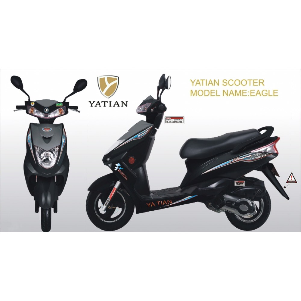 Fashionable stable quality professional design 125cc scooter
