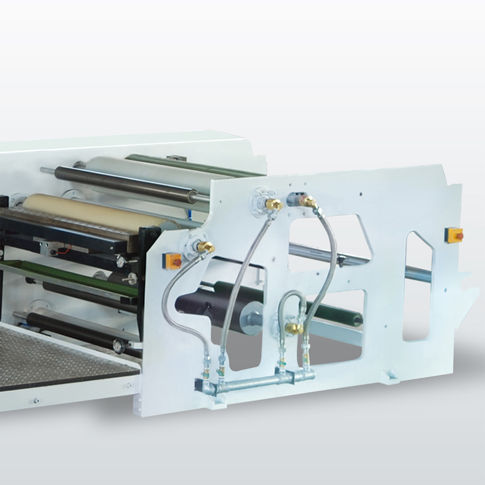 Non-woven Fabric Tape Hot Melt Coating Machine High Speed