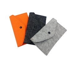 Soft Felt Case For 4.7 inch <strong>Phone</strong> Cases Cover <strong>Wallet</strong> money <strong>Phone</strong> Bag Pouch <strong>With</strong> Credit Card Slot