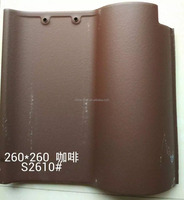 2015 spanish roof tiles prices silver gray Clay Spanish Glazed Roof Tile