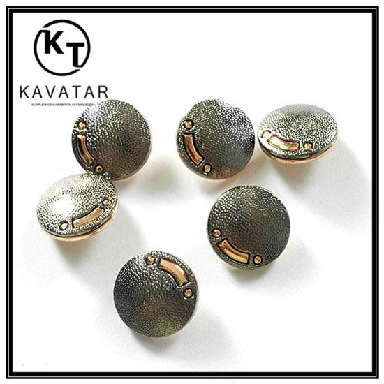 Factory wholesale jacket metal coat buttons