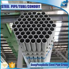 BS 1387 Class B pre galvanized round carbon steel pipe price of manufacturers