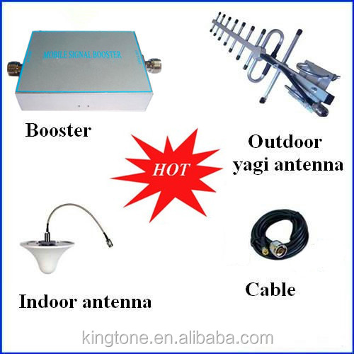 3G GSM CDMA 850MHz Signal Repeater, Cell Phone Amplifier with Cable + Yagi Antenna